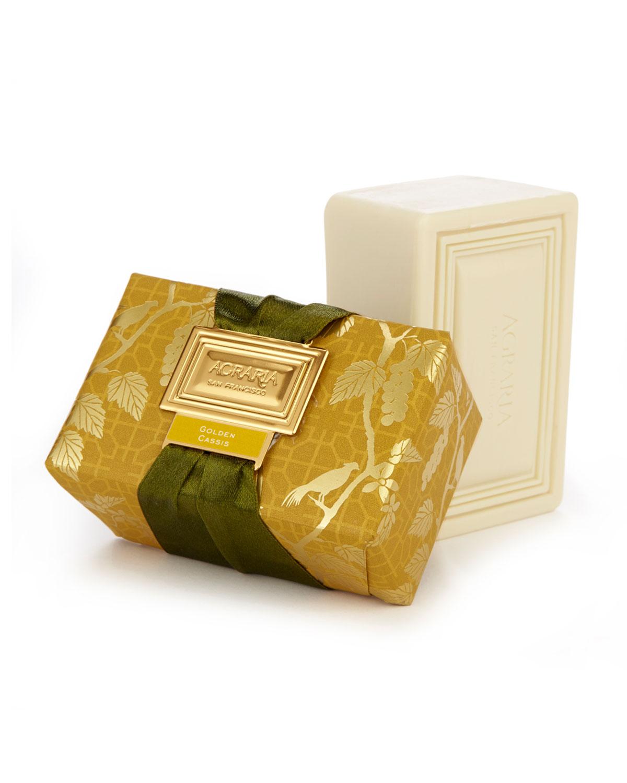 Golden Cassis Luxury Bath Bar Soap