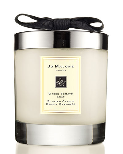 Green Tomato Leaf Scented Home Candle, 7 oz