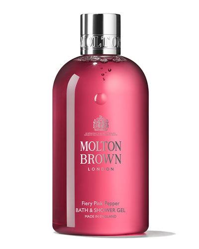 Fiery Pink Pepper Bath and Shower Gel, 10 oz./ 300 mL