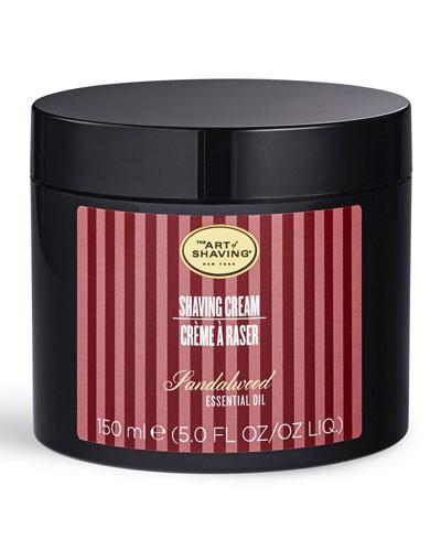 The Art Of Shaving Brush Or Brushless Shaving Cream, Sandalwood