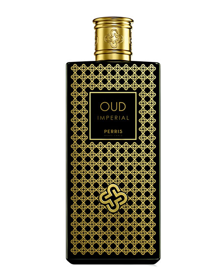 Perris Monte Carlo Oud Imperial Black Eau De Parfum, 3.4 oz./ 100 mL