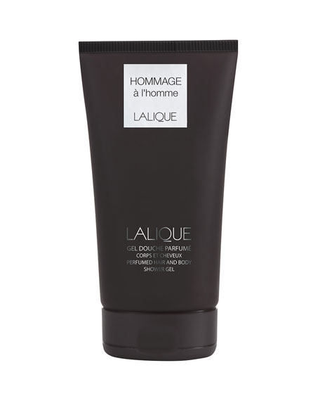 Lalique Hommage a l'Homme Perfumed Hair & Body Shower Gel Tube