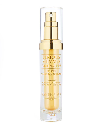 Serious Shimmer Cooling Spray Bronze, 1 oz.