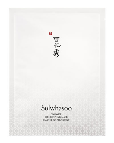 Snowise Brightening Mask, 10 Sheets