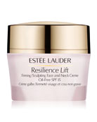 Resilience Lift Firming/Sculpting Face & Neck Crème Oil-Free SPF 15, 1.7 oz.