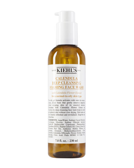 Kiehl's Since 1851 7.8 oz. Calendula Deep Cleansing Foaming Face Wash