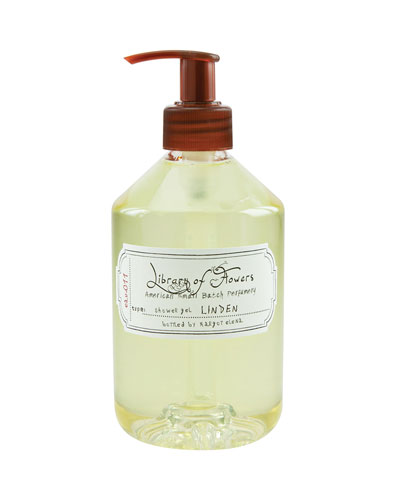Linden Shower Gel, 16 oz.