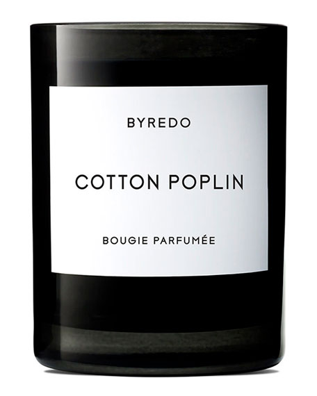 Byredo 8.5 oz. Cotton Poplin Bougie Parfumee Scented Candle