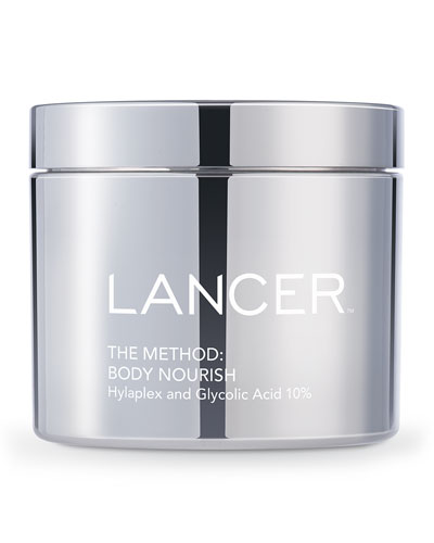 The Method: Body Nourish Cream with Hylaplex® and 10% Glycolic Acid, ...