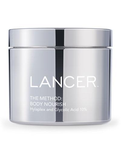 The Method: Body Nourish Cream with Hylaplex® and 10% Glycolic Acid, ...