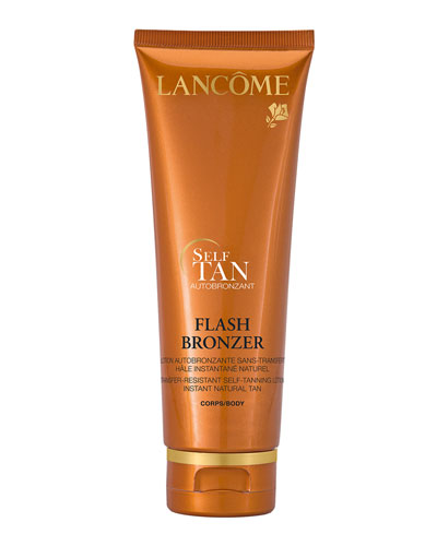 FLASH BRONZER Tinted Self-Tanning Body Gel with Pure Vitamin E, 4.2 fl. oz.