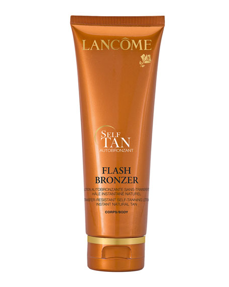 Lancome 4.2 oz. FLASH BRONZER Tinted Self-Tanning Body Gel with Pure Vitamin E