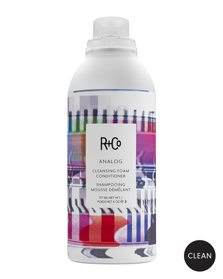 R+Co 6 oz. ANALOG Cleansing Foam Conditioner