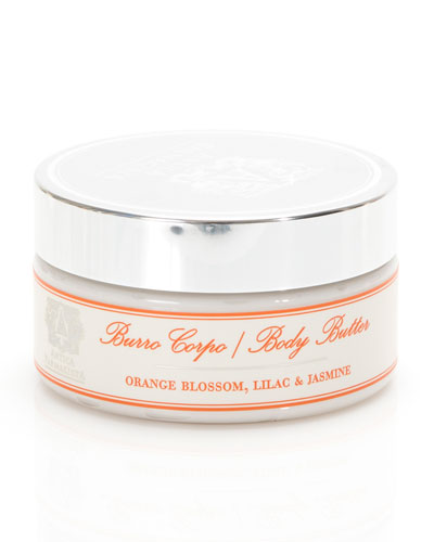 Orange Blossom, Lilac & Jasmine Body Butter, 8 oz.