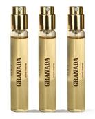 Spray Fiole Granada, 3 x .34 oz./ 10 mL