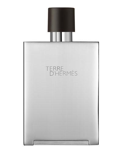 Terre d'Hermès Eau de Toilette Bel Objet Metal Refillable Spray, 5 ...