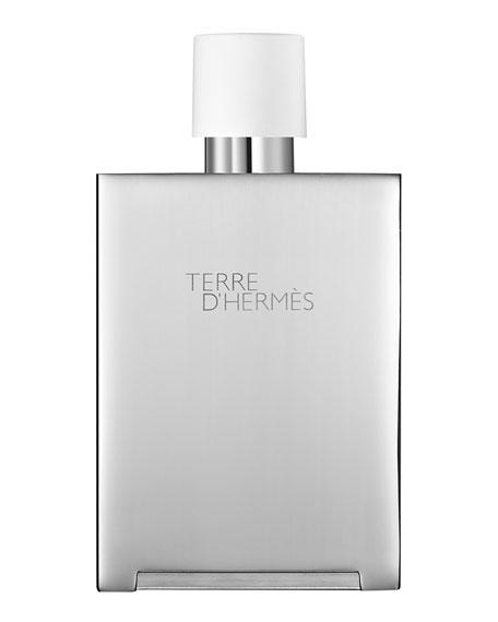 Hermès Terre d'Hermès Eau Très Fraîche Bel Objet Metal Refillable Spray, 5 oz./ 148 mL
