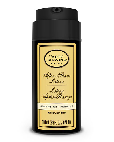 The Art Of Shaving Lotion, Unscented, 100 M L
