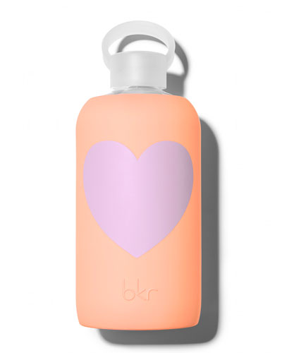 Glass Water Bottle, Sweet Heart, 1L