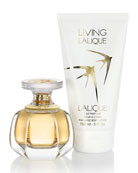 Living Lalique Eau de Parfum and Lotion Set