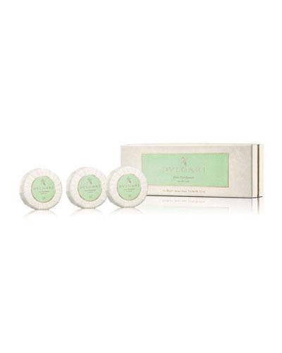 Eau Parfumée Au Thé Vert Soap Set, 3 X 150g
