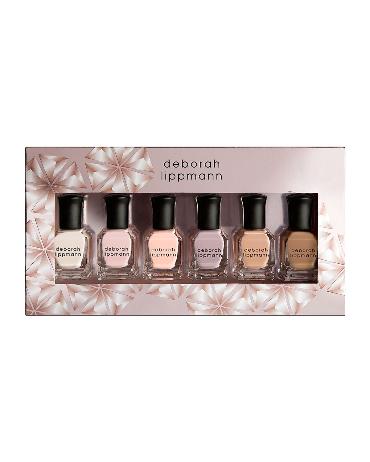 Deborah Lippmann UNDRESSED 6-PIECE NUDE NAIL POLISH SET, 8 ML EACH ($72 VALUE)