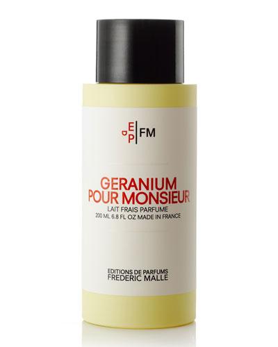 Géranium pour Monsieur Body Milk, 200 mL