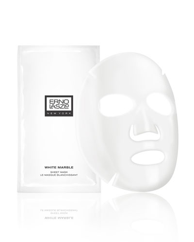 White Marble Translucence Sheet Mask, 6 count