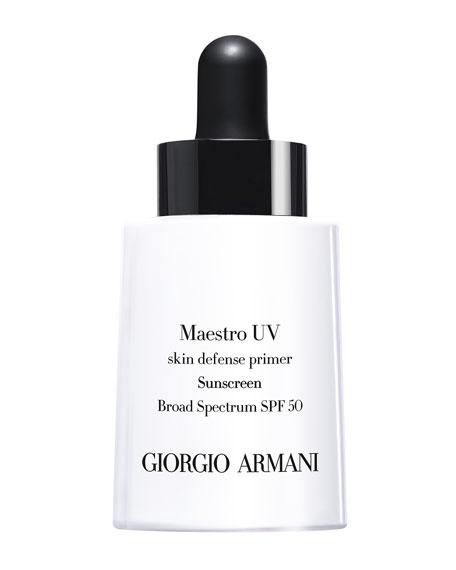 Giorgio Armani 1 oz. Maestro UV Skin Defense Primer Sunscreen SPF 50