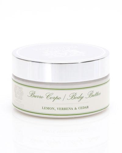Lemon, Verbena & Cedar Body Butter, 8 oz.