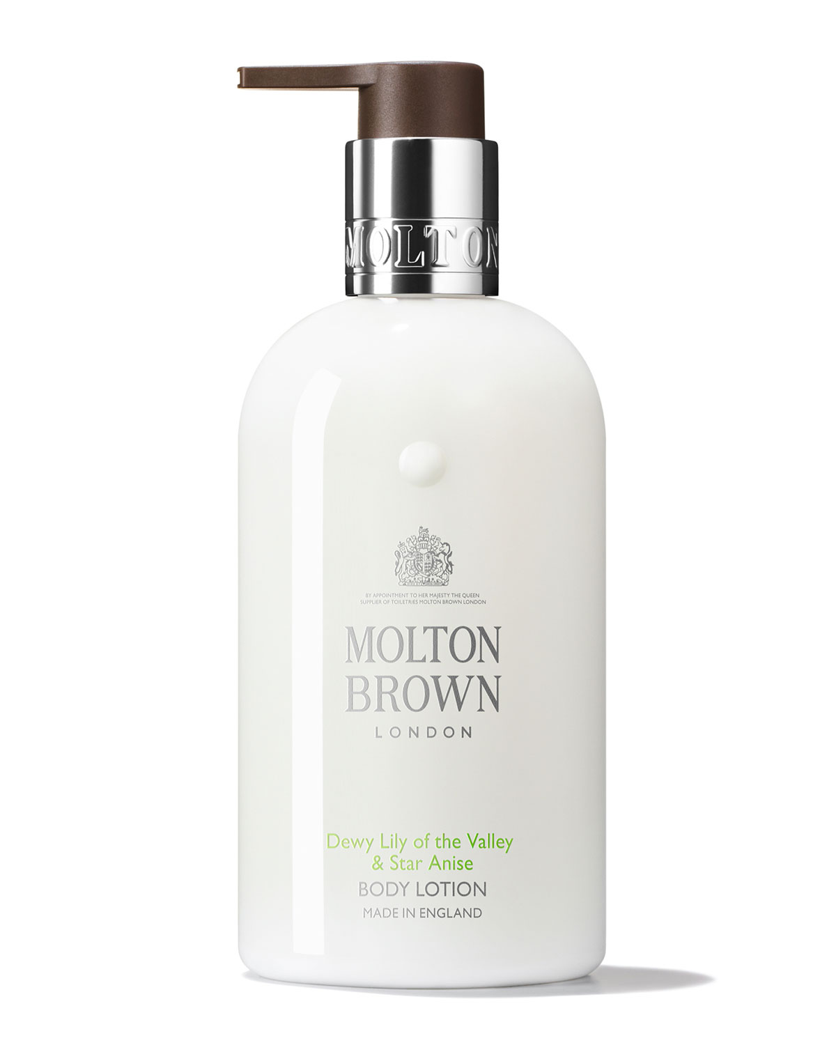MOLTON BROWN Dewy Lily Of The Valley & Star Anise Body Lotion, 10 Oz./ 300 Ml