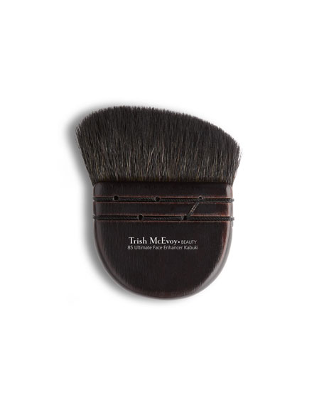 Trish McEvoy Brush #85 - Ultimate Face Enhancer Kabuki