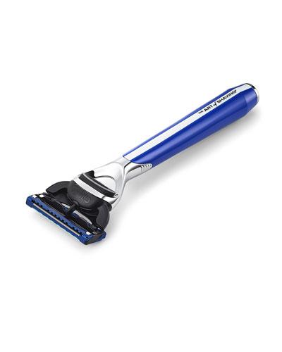 The Art Of Shaving Morris Park Collection Razor, Blue