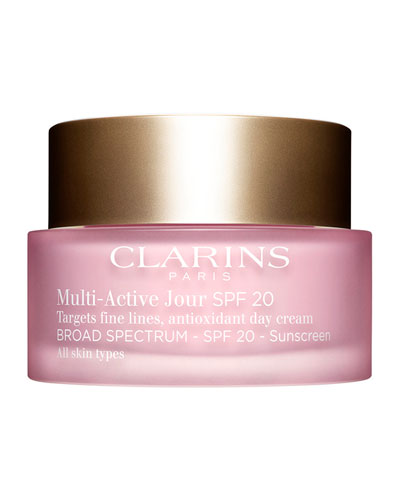 Multi-Active Day Cream Broad Spectrum SPF 20 for All Skin Types, 1.7 ...