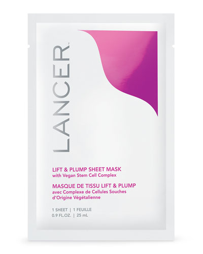 Lift & Plump Sheet Mask with Vegan Stem Cell Complex, 1 count