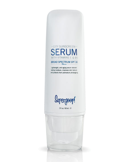 Supergoop! 2 oz. City Sunscreen Serum SPF 30