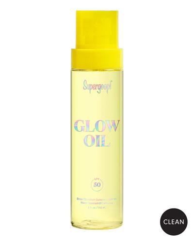 Sun-Defying Sunscreen Oil with Meadowfoam SPF 50, 5 oz.