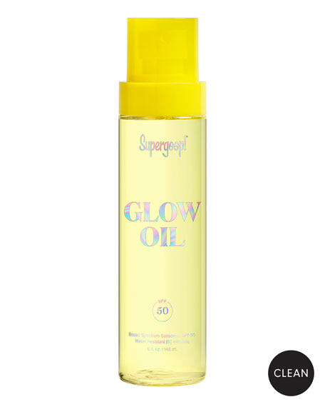 Supergoop! Glow Oil SPF 50, 5 oz.