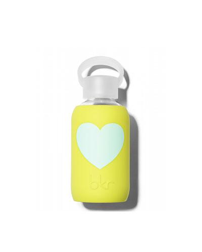 Glass Water Bottle, Gigi Heart, 250 mL