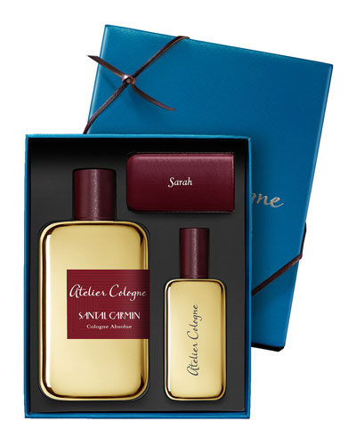Santal Carmin Cologne Absolue, 200 mL with Personalized Travel Spray, 1.0 ...