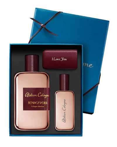 Rendez-Vous Cologne Absolue, 200 mL with Personalized Travel Spray, 1.0 ...