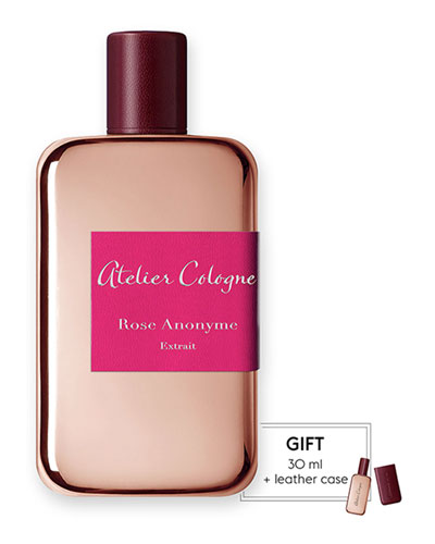 Rose Anonyme Extrait Cologne Absolue, 200 mL with Personalized Travel ...