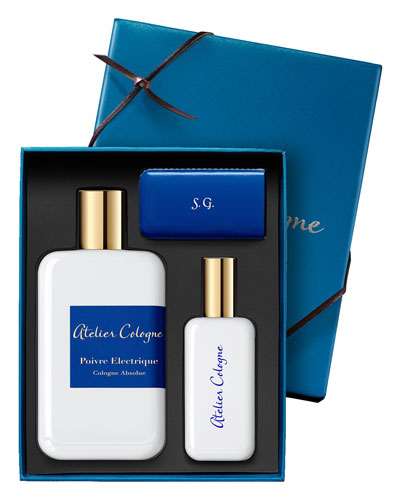 Poivre Electrique Cologne Absolue, 200 mL with Personalized Travel Spray, ...