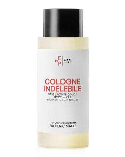 Cologne Indelebile Shower Gel, 200 mL