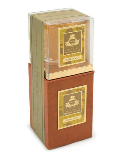 Golden Cassis Candle, 7 oz. & Complimentary Petite Candle, 3.4 oz. (A ...