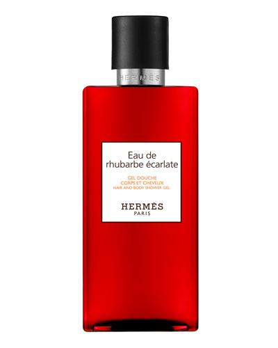 Eau de rhubarbe écarlate Hair & Body Shower Gel, 6.7 oz.