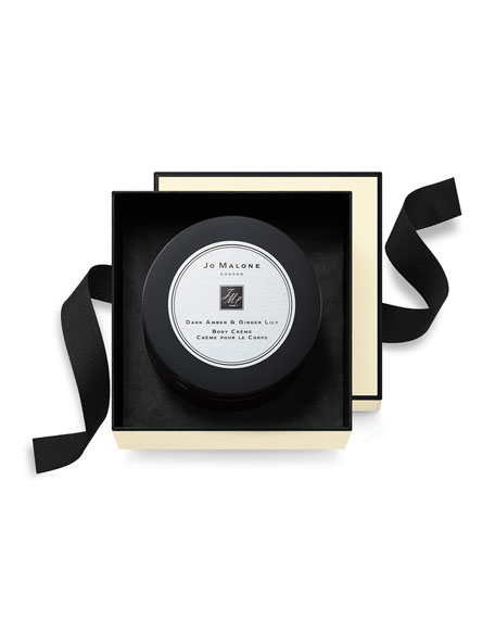 Jo Malone London 5.9 oz. Dark Amber & Ginger Lily Cologne Intense Body Crème