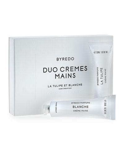 Hand Cream Duo, La Tulipe & Blanche, 30mL each