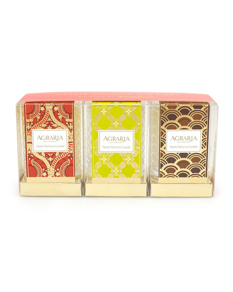 Agraria Petite Scented Candle Gift Set