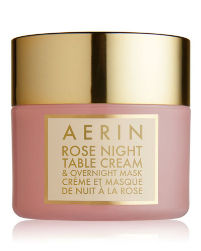Rose Night Table Cream & Overnight Mask, 1.7 oz.